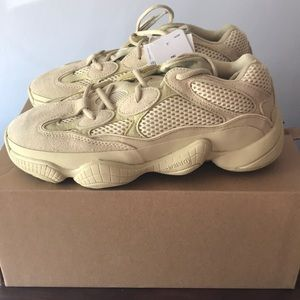 4051133b1c74c adidas Shoes - Yeezy 500 Supermoon in Yellow